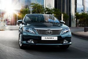 Подробности обновления Toyota Camry