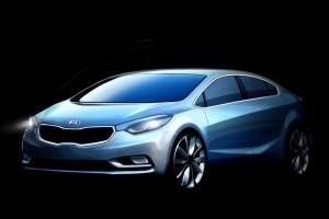 Запущена в производство новая модель седана КIA