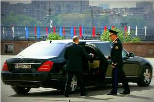 Соревнование за право предоставить лимузин для Путина