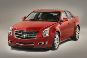 В Сети появились фото Cadillac CTS