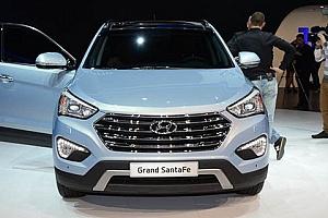 Hyundai Santa Fe Grand и обновленный ix35