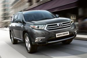 Скоро появится новая Toyota Highlander