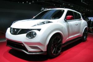 Nissan Juke Nismo представили на автосалоне