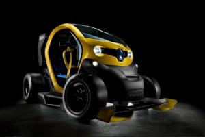 Renault сделала из Twizy формульный болид