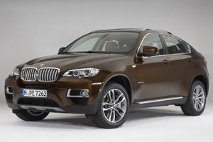Новое поколение машины BMW X6