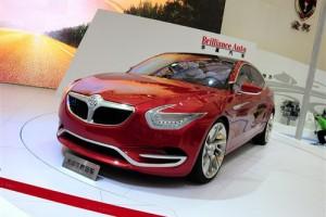 BMW выпустит машину вместе с китайцами