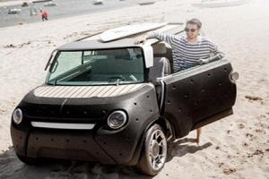 """""""Тойота"""" показала полипропиленовый автомобиль"""