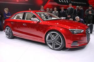 Audi официально представила седан А3 для России