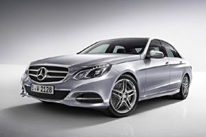 Украинская премьера Mercedes E-Class