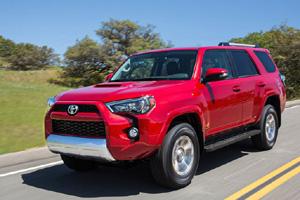 Обновлённый внедорожник от Toyota