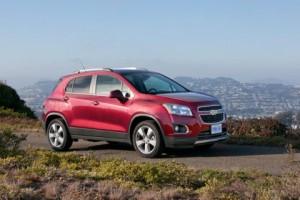 В Украине представили Chevrolet Tracker