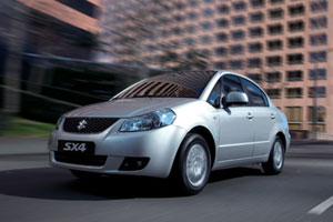 Suzuki привезет в Россию специальный SX4