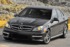 Mercedes-Benz C63 AMG: новый вид!