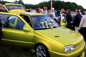 Автомобильный фестиваль в Томске