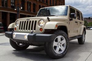 Появилась новая модель Jeep Wrangler