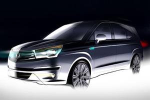 Новый атомобиль SsangYong Stavic
