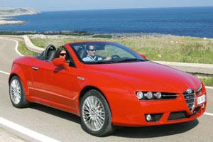 Появилась информация об Alfa Romeo Spider