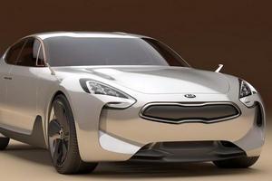 Спорткар Kia GT concept выйдет в 2016 году