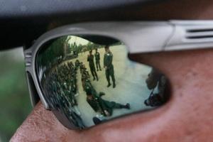 Полицейских оснастят солнцезащитными очками