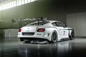 Компания Bentley рассекретила гоночное авто