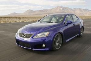 Появление Lexus IS на отечественном рынке