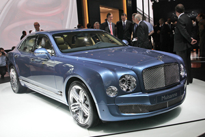 Bentley посетит Конкурс элегантности с новинкой