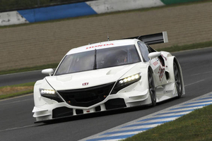 Honda: гоночный болид NSX Concept-GT