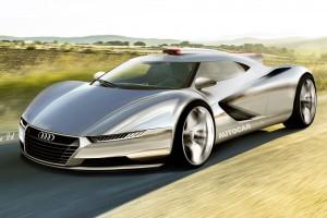 Audi: гибридный суперкар для Франкфурта