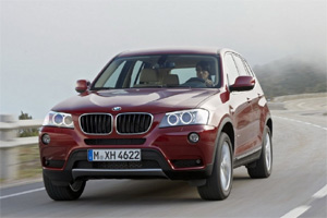 Новый гибридный автомобиль BMW X5 eDrive