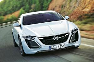 Opel показал новую фотографию купе Monza