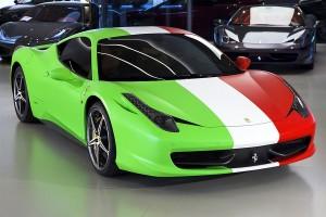 Ferrari подготовила особую версию 458 Italia