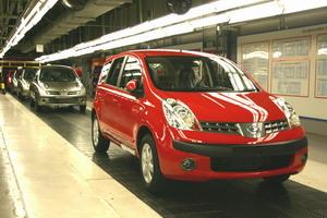 Nissan начал производство нового Note