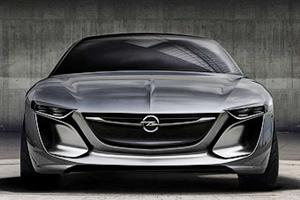 Opel представил концептуальное бизнес-купе Monza