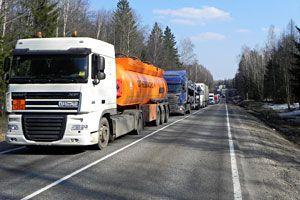 Запрет въезда фур на территорию Москвы