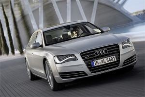 Audi A8 - самый легкий в своем классе