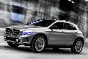 Новый кроссовер GLA от Mercedes-Benz уже в серии