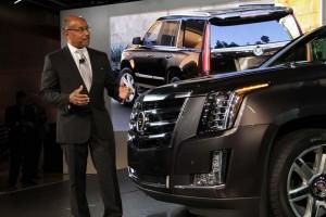 Cadillac Escalade 2015 представят в начале октября