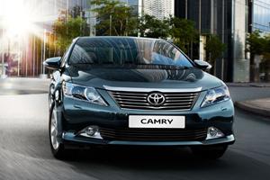 Седан Toyota Camry лишился рекомендации