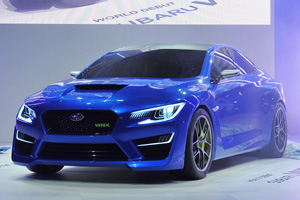 Subaru скоро представит новый WRX
