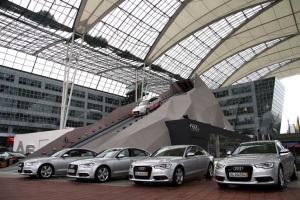 Audi и аттракцион «quattro-горка»
