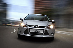 Ford испытывает рестайлинговый Focus