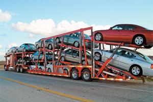 В России в 2013 году сократился импорт автомобилей