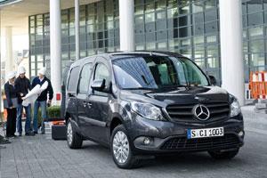 Mercedes-Benz Citan Crewbus примет на борт семерых