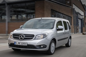 Daimler AG рассекретил минивэн Citan Crewbus