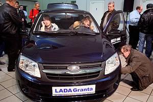 Lada Granta остался самой продаваемой моделью в РФ