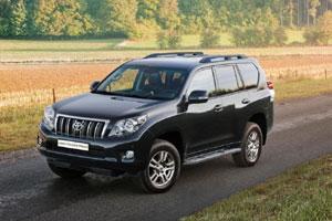 Обновленный Toyota Land Cruiser Prado