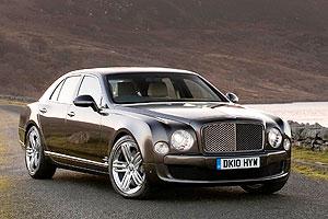 Bentley в Дубаи представило новый седан Mulsanne