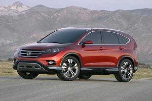 Honda запатентовала дизайн нового кроссовера
