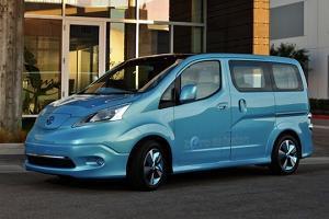 Nissan представляет новый электрофургон