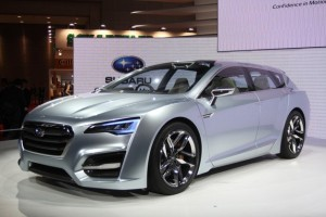 Предвестник нового универсала Subaru